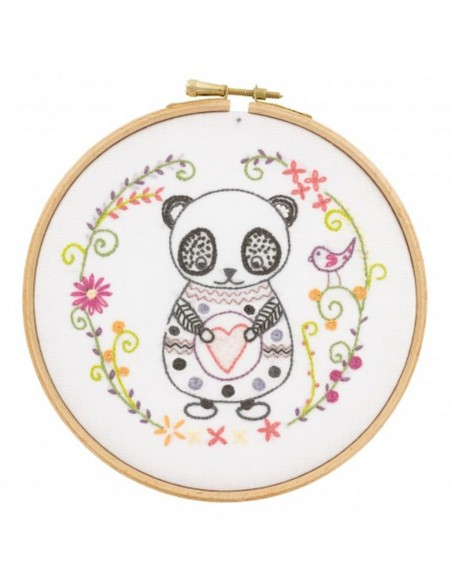Kit À Broder Panda